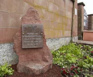 Inauguration d'un Mémorial des victimes des génocides du 20ème siècle à Lutterbach