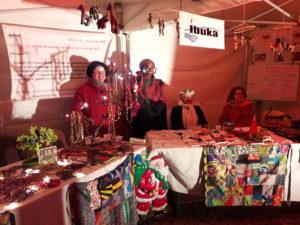 La cellule locale Ibuka France à Chalette au Marché de Noël