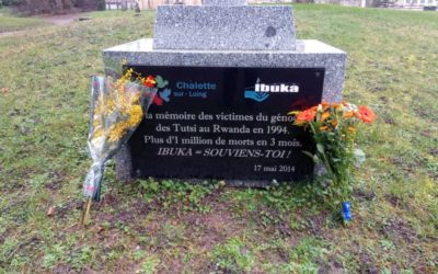 Hommage aux victimes du génocide commis contre les Tutsi au Rwanda