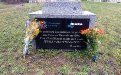Retour à la commémoration du génocide contre les Tutsi à Chalette