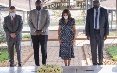 Anne Hidalgo, Maire de Paris, sur le volet mémoriel au Rwanda